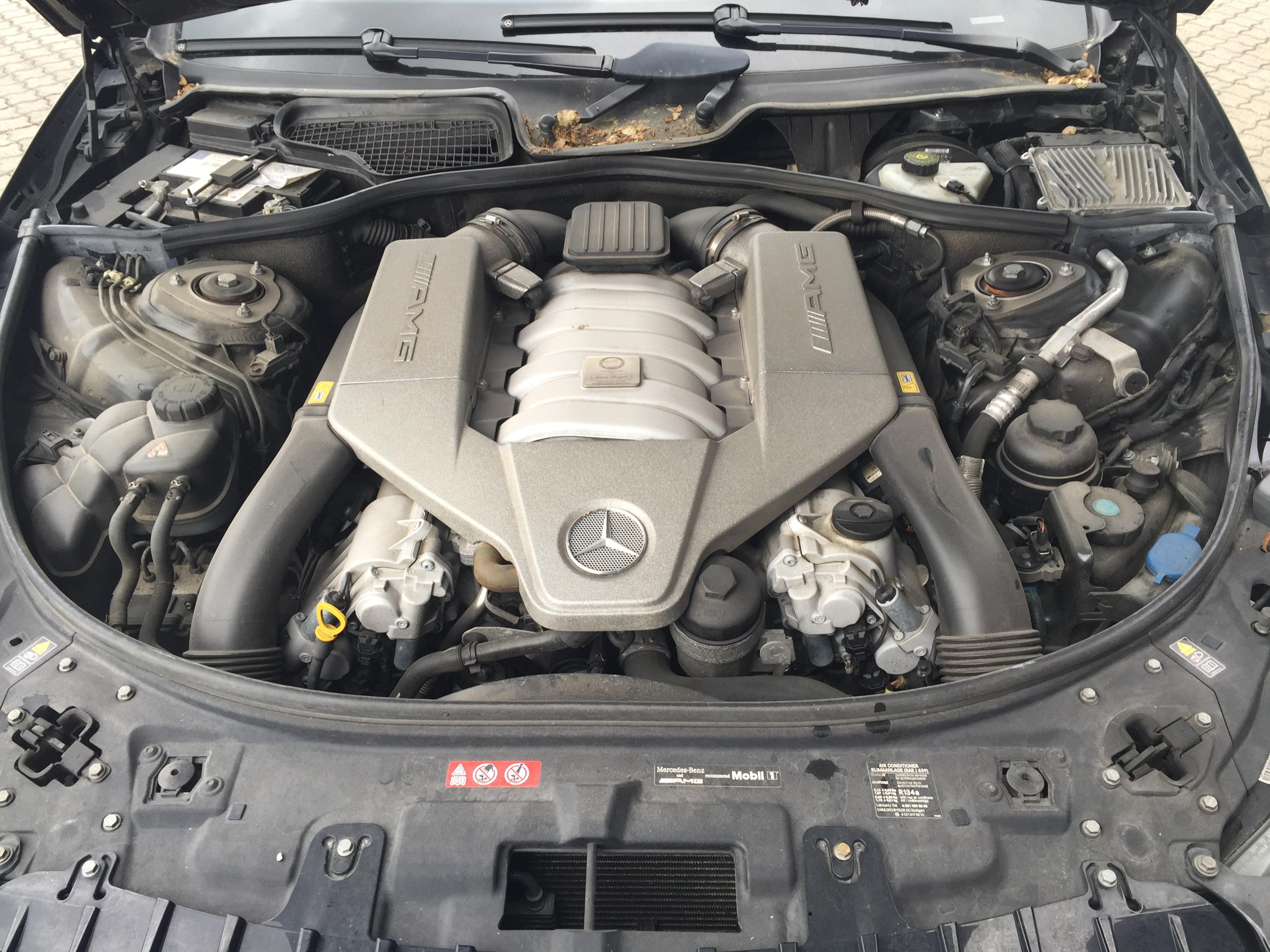 rengøring af motorrum